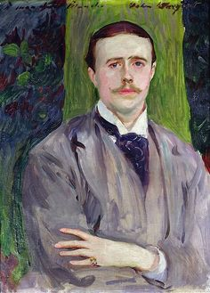 """John Singer Sargent (American, 1856–1925). Jacques-Emile Blanche, 1886. Musée des Beaux-Arts, Rouen; Jacques-Emile Blanche, 1922 
