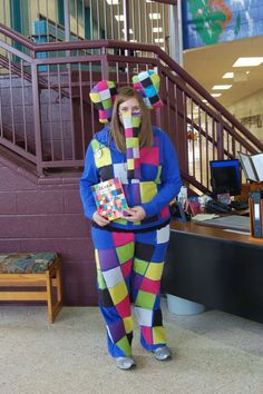 elmer the elephant book week costumes - Google Search
