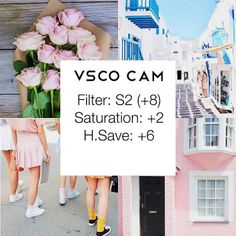 100 VSCO Filter Setting - Click For More!