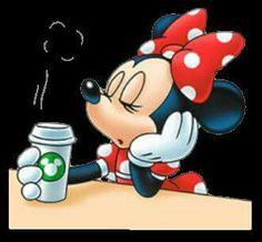 I Think Minnie Needs More Coffee!