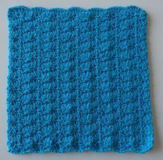 Hæklet karklud med muslingemønster - Mettes kreahjørne Crochet Books, Crochet Yarn, African Flowers, Diy And Crafts, Knitting, Creative, Inspiration, Planter, Home Decor