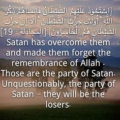 Beware of Satan , our eternall enemy.