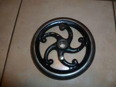 Jones serpentine sewing machine balance wheel by ZionVintageCrafts on Etsy