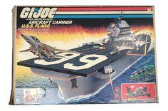 Hasbro GI Joe – U.S.S. Flagg Aircraft Carrier MIB - G.I. Joe, Vintage G.I. Joe