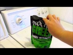 My Cloth Diaper Wash Routine (Top Loader) - YouTube