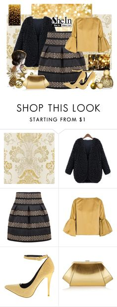 """Christmas"" by manoumit ❤ liked on Polyvore featuring WithChic, Bottega Veneta and ZAC Zac Posen"