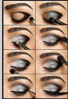 Makyajda Sihirli El : gölgeli göz makyajı
