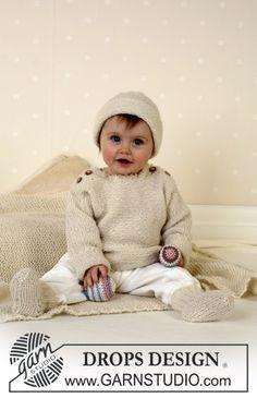 Pull et Chaussettes DROPS en Alpaca ~ DROPS Design