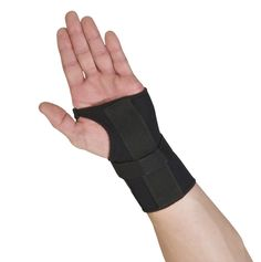 Thermoskin Wrist Brace, Hand Brace, Carpal Tunnel Brace with Dorsal Stay, Black, Right, 4X-Large ** You can find more details by visiting the image link.