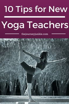 Advice for new yoga teachers! From one yoga teacher to the next, let's share in the yoga journey.