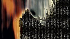Stock Photo: Streaming Data Abstraction 10945