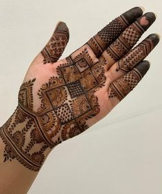 Check collection of 41 Mehndi Designs For Eid to Try This Year. Eid ul fitar 2020 includes mehndi designing, girls decorate their hands with mehndi designs. Henna Hand Designs, Dulhan Mehndi Designs, Mehndi Designs Finger, Latest Arabic Mehndi Designs, Full Hand Mehndi Designs, Mehndi Designs For Beginners, Mehndi Designs For Girls, Mehndi Design Photos, Wedding Mehndi Designs