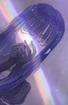 Lapis Lazuli (Houseki no Kuni) Image - Zerochan Anime Image Board Kawaii Anime Girl, Anime Art Girl, Anime Angel Girl, Anime Girl Crying, Anime Girls, Anime Scenery Wallpaper, Anime Artwork, Pretty Art, Cute Art