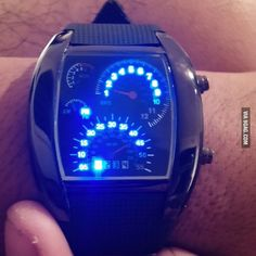 My boyfriend is a grease monkey. Gave him this watch today. What do you guys think?