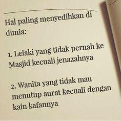 Semoga kita terus memperbaiki diri dan meningkatka keimanan kepada Allah... .  Follow @IndonesiaMenutupAurat  Follow @IndonesiaMenutupAurat  Follow @IndonesiaMenutupAurat Muslim Quotes, Islamic Quotes, Allah, Writer, Like4like, Mindfulness, Spirit, Coding, Words