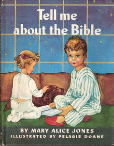 Tell Me About the Bible Vintage Rand McNally by MyLittleBookGarden