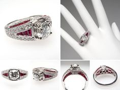 Exquisite Vintage and Antique Engagement Rings from EraGem