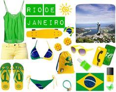 """Rio de Janeiro"" by uk2k on Polyvore"