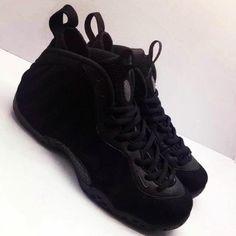 black suede foamposite release date 02 570x570 Nike Air Foamposite One Black Suede   Release Date