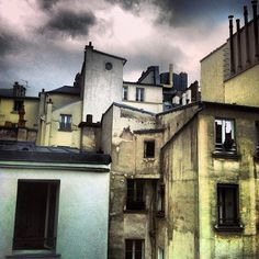 #Paris #roofs