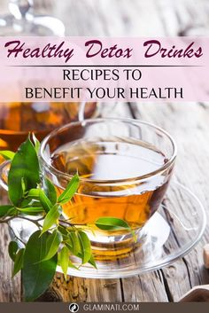 Detox teas can help detox your liver