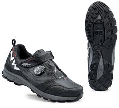 Northwave Mission Plus All Terrain MTB Shoes - Black Mtb Shoes, Cycling Shoes, Black Shoes, Hiking Boots, Bike, Sneakers, Mountain, Fashion, Shopping