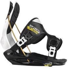 #Flow #Bindings #Snowboard Black White and Yellow Bindings by Flow