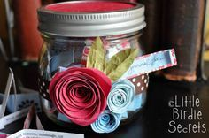 Write Your Story with a Journal Jar | Make and Takes
