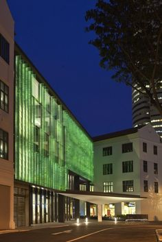 NIGHT LIGHTING INCORPORATED IN GLASS FINS 2