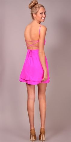 Jennifer Hope - Serena Bareback Sweetheart Dress ...