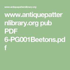 www.antiquepatternlibrary.org pub PDF 6-PG001Beetons.pdf