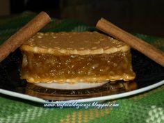 Prajitura rapida cu mere si biscuiti