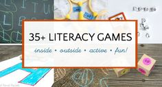 fun literacy games and activities for kids