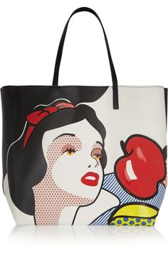 REDValentino | Snow White ©Disney leather tote | NET-A-PORTER.COM
