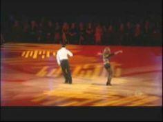 Tony Dovolani and Elena Grinenko in Championship Round