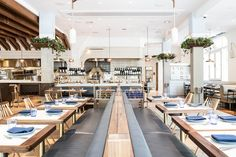 Under chef Erling Wu-Bower, Pacific Standard Time is now Steps Design, Private Dining Room, New Menu, Restaurant Interior Design, Chicago Restaurants, California Travel, Dining Area, Table Decorations