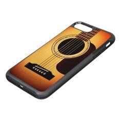 Sunburst Acoustic Guitar OtterBox Symmetry iPhone 7 Plus Case