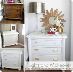 Nightstand Makeover/ House of Smith's