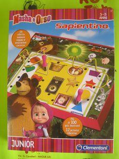 Sapientino Clementoni Masha and the Bear