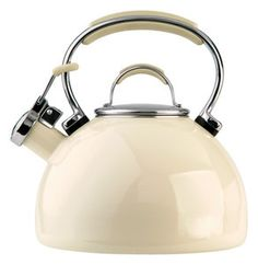Prestige 2.0 litre enamel hob kettle Almond cream. | eBay