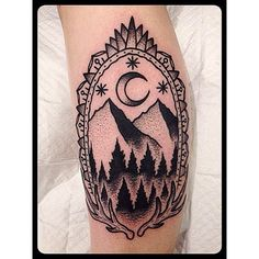 Christian Lanouette- I've been wanting to get a mountain tattoo for Idaho...