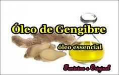Óleo de Gengibre ( óleo essencial)   Feminina e Original ♡