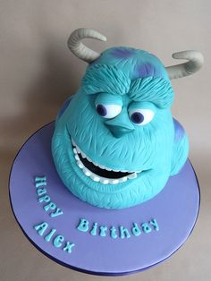 Monsters, Inc Cake - Sully | Flickr - Photo Sharing!