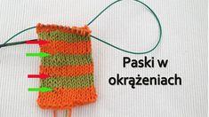 Jak robić kolorowe paski w okrążeniach w dzianinie? Crochet Necklace, Crochet Hats, Youtube, Knitting Hats, Youtubers, Youtube Movies