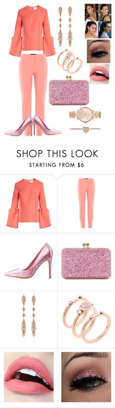 """Untitled #218"" by ericap61720 ❤ liked on Polyvore featuring Roksanda, Piazza Sempione, Charlotte Russe, Sophie Hulme, Fernando Jorge and Michael Kors"