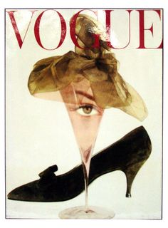 Vogue Retro Magazine Cover Martini Print – ABBY ESSIE
