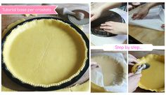 Un facile tutorial per preparare un'ottima base per crostata. Un semplice step by step che vi tornerà utile per molte preparazioni