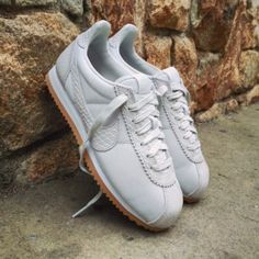 f19d0b894 Nike Classic Cortez Leather Light Bone Sneakers Women s Classic Cortez  Leather Lux Casual SE Sneakers from