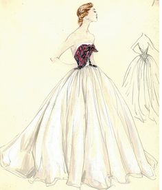 Ilustração de Moda