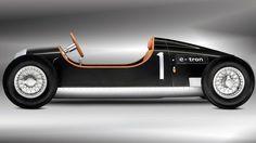 Auto Union E-Tron Concept Racer Is For The Kids